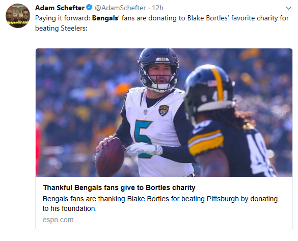 bortles tweet