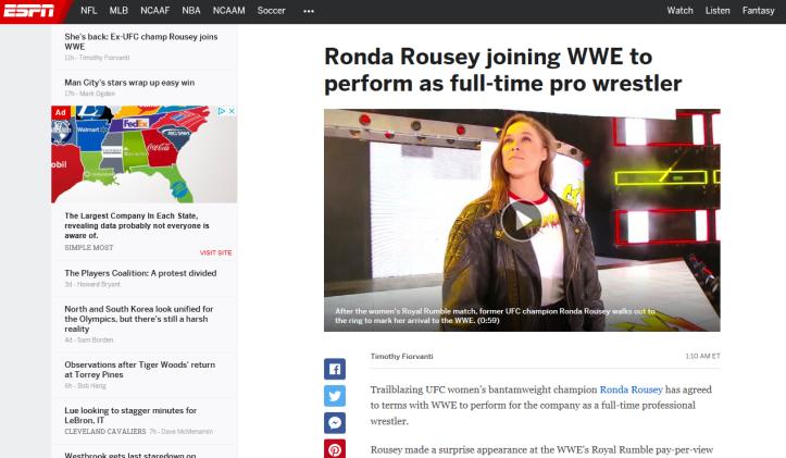 ronda pro wrestling