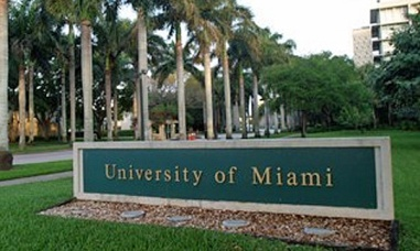 university-of-miami-sign