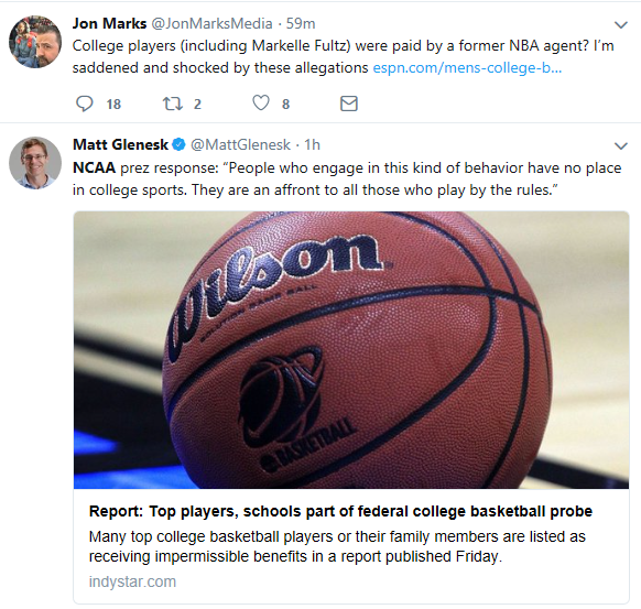 NCAA Scandal- Shocked