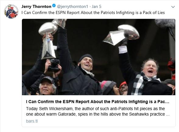 Thornton Lies