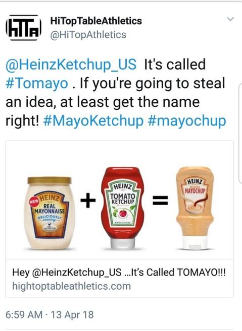 HTTA TO Heinz