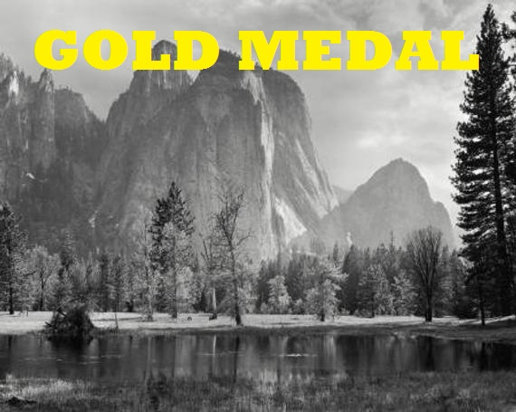 Ansel Adams gold