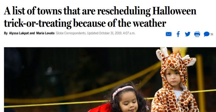 reschedule halloween