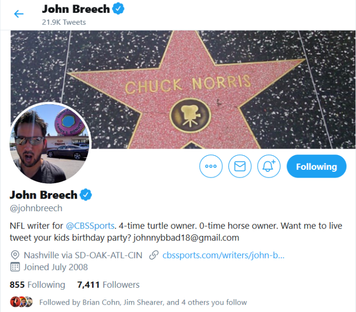 john breech